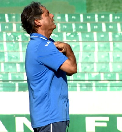 Marcelo Veiga técnico Guarani (Foto: José Braz / EPTV)
