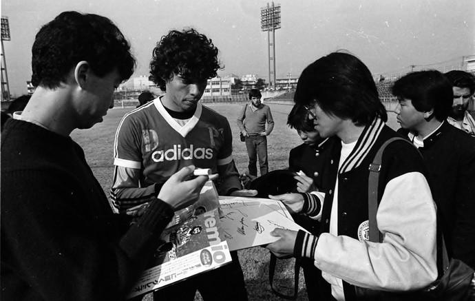 grêmio 1983 mundial tóquio especial paulo roberto treino (Foto: Luiz Ávila/Agência RBS)