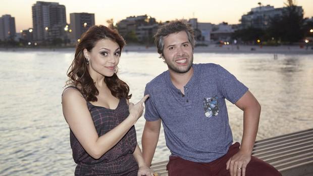 Humor Multishow com Lo Castro e Bruna Louise (Foto: Juliana Coutinho)