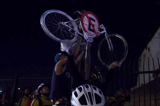 Cena do filme Bikes vs Carros, do diretor sueco Fredrik Gertten (Foto: Reprodução)