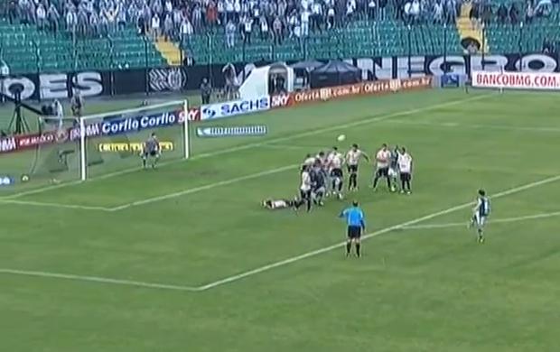 Ricardinho Figueirense Palmeiras Série B (Foto: Reprodução SporTV)