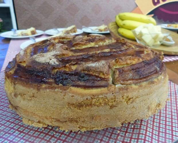 Bolo de Banana (Foto: Laura Fraga / Gshow)