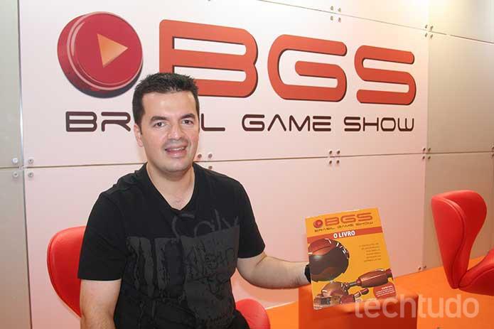Marcelo Tavares, organizador da BGS, se sente animado com a próxima edição após um bom 2015 (Foto: Felipe Vinha/TechTudo)