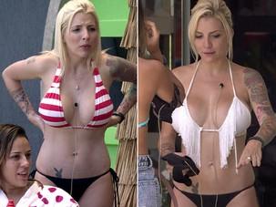 Clara antes e depois (Foto: BBB / TV Globo)