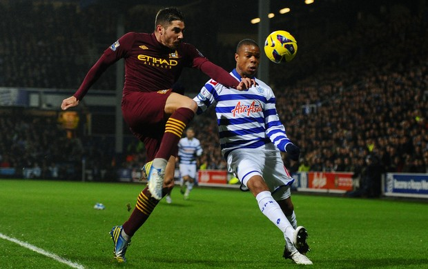 Javi Garcia remy Queens Park Rangers x Manchester City (Foto: Getty Images)