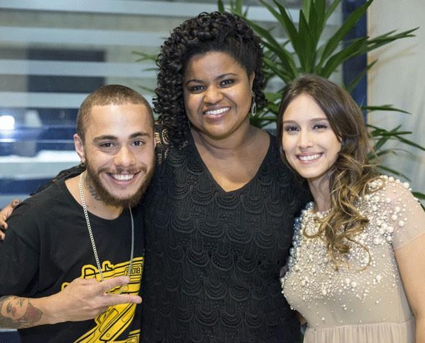 Joey Mattos, Isadora Morais e Rose Oliver (Foto: Camila Serejo/Gshow)