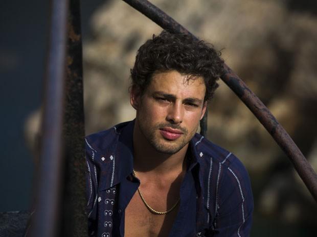 Cauã Reymond como Leandro na série 'Amores roubados' (Foto: Estevam Avellar/TV Globo)