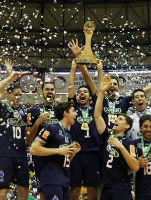 Cruzeiro campeão da Superliga (Foto: Alexandre Arruda/CBV)