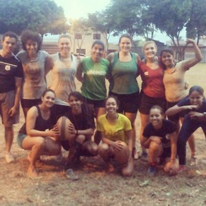 Taurus Rugby feminino (Foto: Taurus Rugby/Divulgação)