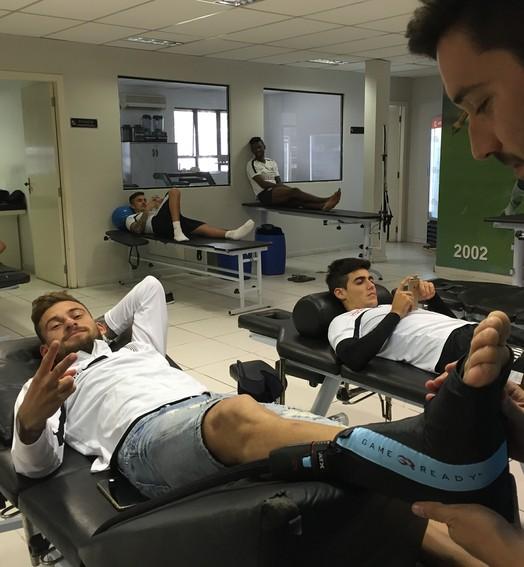 DE MOLHO (Divulgação / Santos FC)