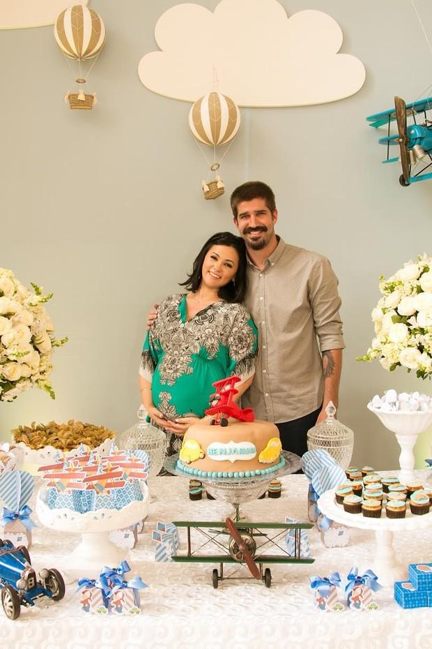 Susana Alves e Flávio Saretta (Foto: Instagram / Reprodução)