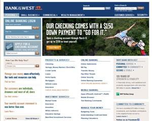 Clientes do Bank of the West sofreram um ataque de hackers (Foto: Reprodução)