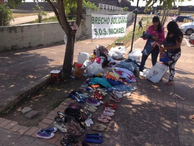 Vendas aconteceram em uma área no entorno da Fortaleza de São José (Foto: John Pacheco/G1)