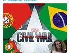 BR x PT: brasileiros celebram 'vitória' da #PrimeiraGuerraMemeal