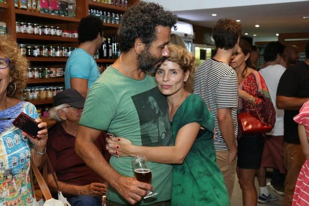 Marcos Palmeira e Gabriela Gastal (Foto: Roberto Filho/Brazil News)
