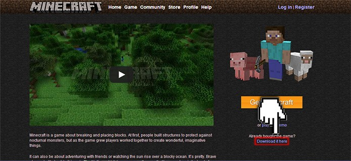 home-site-minecraft