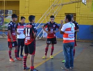 Flamenguinho no Rondoniense Sub-15 de Futsal (Foto: Jheniffer Núbia)