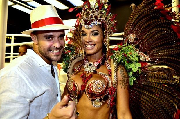Diogo Nogueira e Milena Nogueira (Foto: Roberto Teixeira/ EGO)