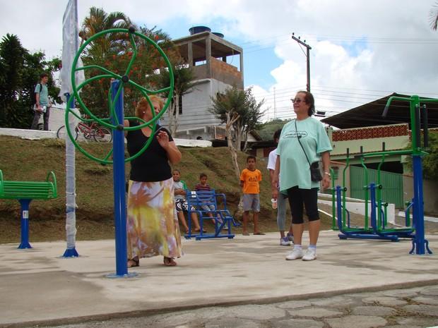 Idosos de Cordeiro poderão se exercitar gratuitamente e com acompanhamento. (Foto: Divulgação/Prefeitura de Cordeiro)