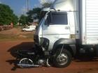 Colisão entre motocicleta e caminhão mata homem em rodovia de MT