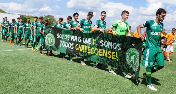 Chapecoense x Nova Iguaçu Copa São Paulo (Foto: Miguel Pessoa/Futura Press)