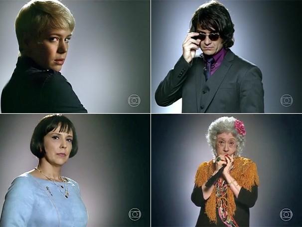 Confira o visual dos personagens de Leandra Leal, Gabriel Braga Nunes, Ana Beatriz Nogueira e Fernanda Montenegro em Saramandaia (Foto: Globo)