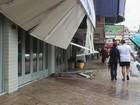Chuva e vento causam estragos pelo RS e deixam usuários sem luz