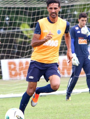 Leandro Guerreiro, volante do Cruzeiro (Foto: Denilton Dias/ VIPCOMM)