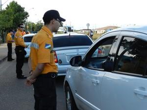 Operação Salvando Vidas pretende reduzir acidentes de trânsito e combater a criminalidade (Foto: Ascom Detran/RR)