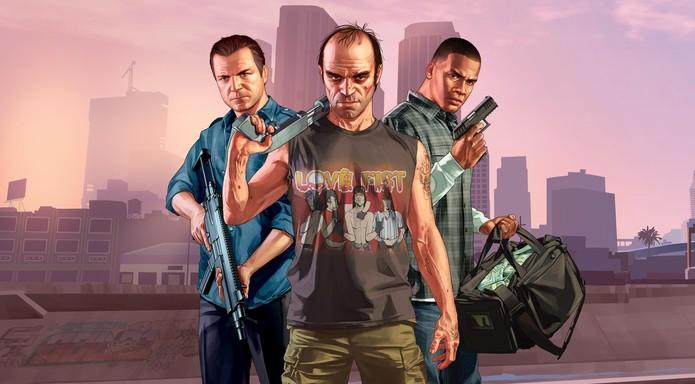 GTA 5 é uma das ofertas na PSN (Foto: Divulgação/Rockstar) (Foto: GTA 5 é uma das ofertas na PSN (Foto: Divulgação/Rockstar))