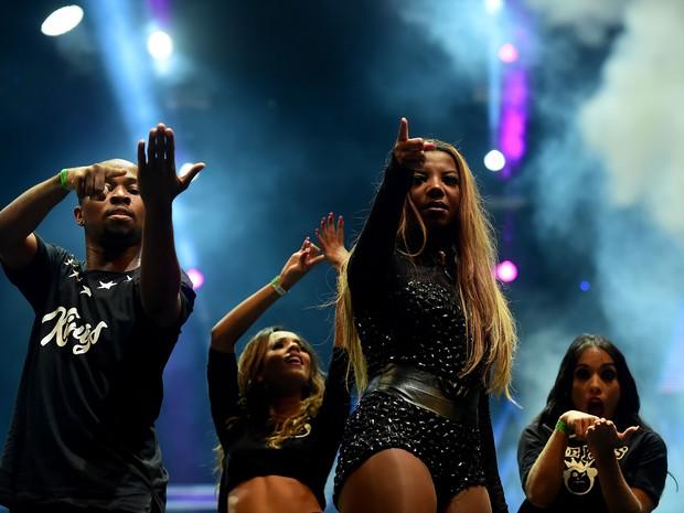 Ludmilla faz plateia dançar com hit 'Hoje' no Planeta (Foto: Vinícius Costa/Agência Preview)