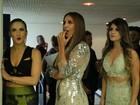 Claudia Leitte, Ivete Sangalo e Paula Fernandes abusam das caras e bocas