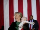 Hillary chama Trump de mau perdedor por não dizer se respeitaria resultado