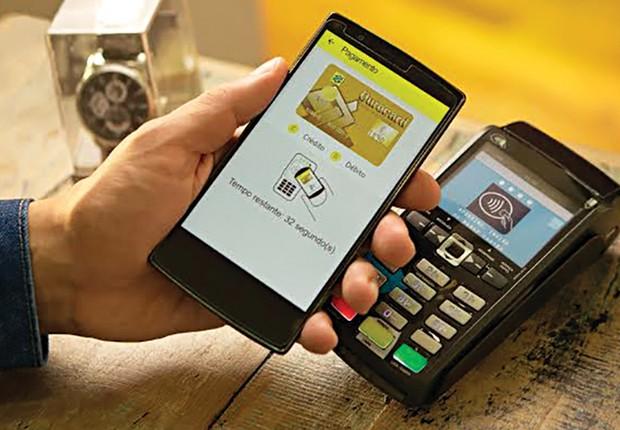 Banco do Brasil adota tecnologia NFC para pagamentos que dispensam uso de cartão (Foto: Divulgação)