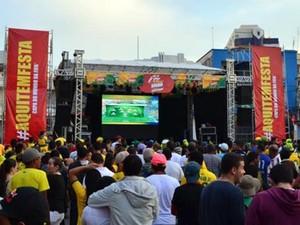 1896e8e4e Point da Brahma Copa do Mundo jogos Brasil seleção brasileira partida jogo  (Foto  Alexandre