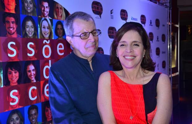 Daniel Filho e Olivia Byington: juntos dentro e fora dos sets de filmagem (Foto: Ricardo Gama)