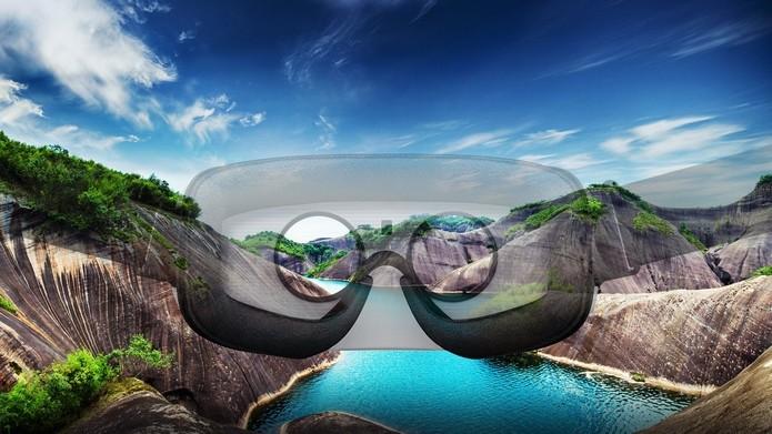 VR pode ser ser usado no turismo, simulando a experiência no local de destino (Foto: Divulgação/Samsung)
