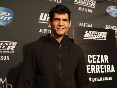 Cezar Mutante TUF 21 Finale UFC MMA (Foto: Evelyn Rodrigues)