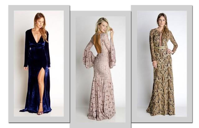 Alguns dos modelos disponíveis na My Dress (Foto: Arte Vogue Online)