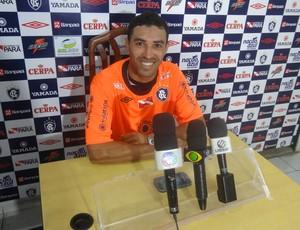 Fábio Paulista disputou a Série C do Brasileiro pelo Santa Cruz (Foto: Gustavo Pêna/GLOBOESPORTE.COM)