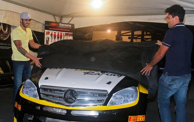 Gusttavo Lima Racing carro Mercedes-Benz Grand Challenge (Foto: Luciano Santos/Sigcom)