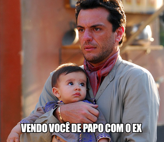 Não está sendo fácil para o Raj (Foto:  TV Globo / Zé Paulo Cardeal)