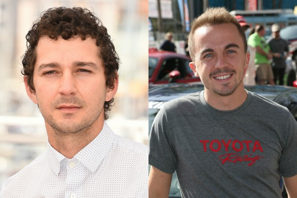 Shia LaBeouf x Frankie Muniz (Foto: Getty Images)