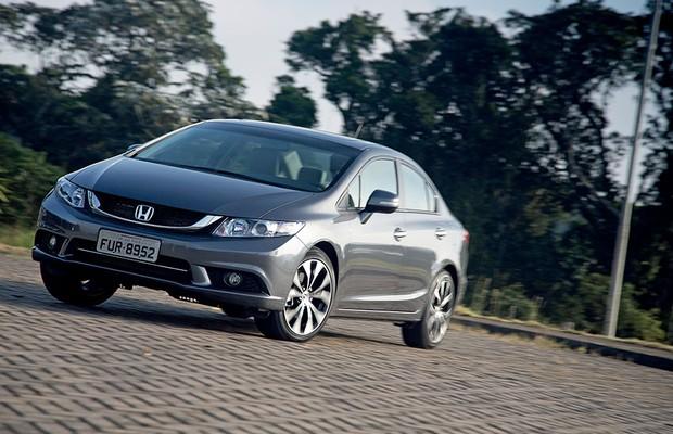 Honda Civic (Foto: Fabio Aro/Autoesporte)