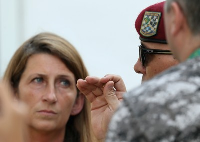 Projétil Deodoro (Foto: Rob Carr/Getty Images)