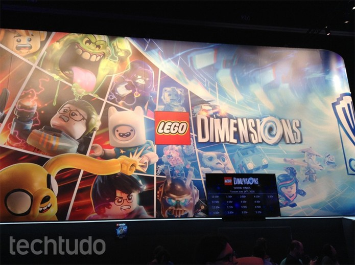 Lego Dimensions (Foto: Felipe Vinha/TechTudo)