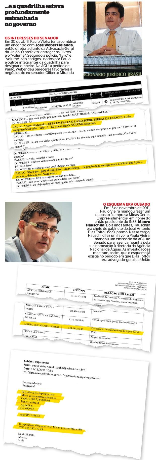... e a quadrilha estava profundamente entranhada no governo (Foto: Hiram Vargas/Esp. CB/D.A Press e ABR)
