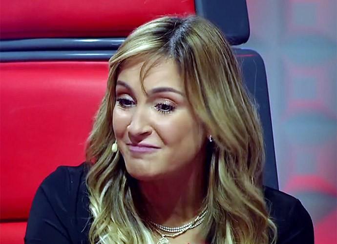 Claudia Leitte promete briga no The Voice desta quinta (Foto: TV Globo)