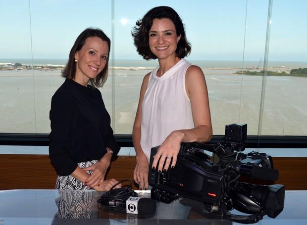 Patrícia vai atuar na região junto com bianca Ingleto (Foto: Luiz Carlos de Souza/RBS TV )