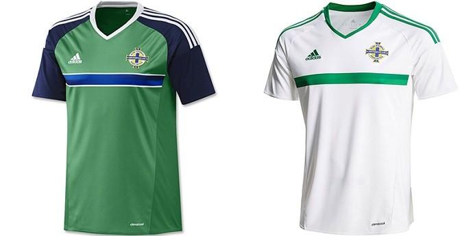 Camisas Eurocopa irlanda do norte